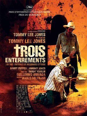 Trois enterrements / Tommy Lee Jones (réal)   Jones, Tommy Lee ((1946 - ...)). Metteur en scène ou réalisateur. Acteur
