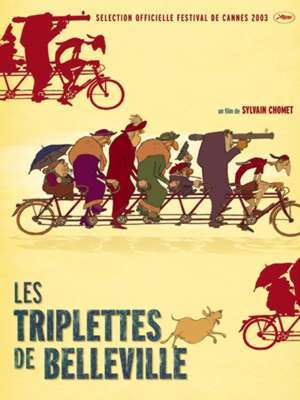 Les triplettes de Belleville / Sylvain Chomet (réal) | Chomet, Sylvain. Metteur en scène ou réalisateur. Scénariste