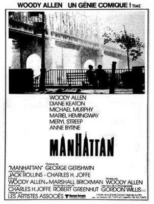 Manhattan / Woody Allen (réal)   Allen, Woody ((1935-...)). Metteur en scène ou réalisateur. Scénariste. Acteur