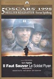 Il faut sauver le soldat Ryan / Steven Spielberg (réal) | Spielberg, Steven. Metteur en scène ou réalisateur