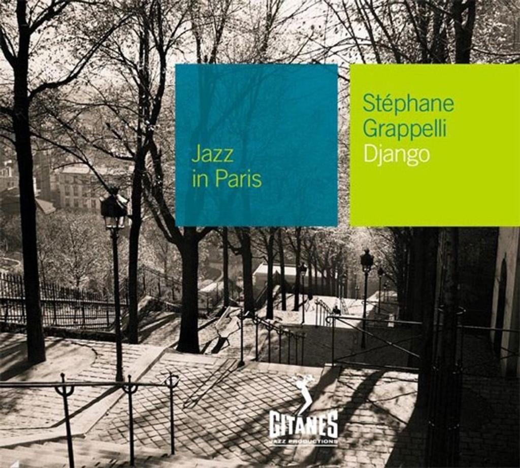 Django : Jazz in Paris / Stéphane Grappelli   Grappelli, Stéphane