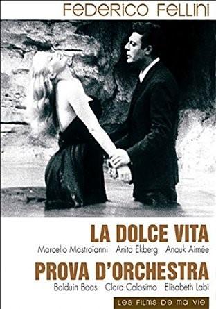 La Dolce Vita / Federico Fellini (réal)   Fellini, Federico. Metteur en scène ou réalisateur. Monteur