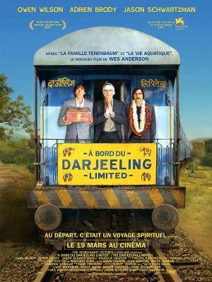 A bord du Darjeeling Limited / Wes Anderson (réal)   Anderson, Wes (1969-....). Metteur en scène ou réalisateur. Scénariste