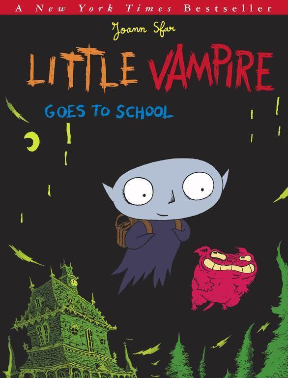 Petit vampire va à l'école. 1 / Joann Sfar | Sfar, Joann. Auteur