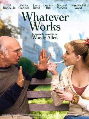 Whatever Works / Woody Allen (réal)   Allen, Woody ((1935-...)). Monteur. Scénariste