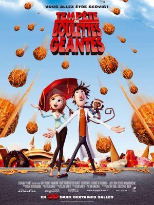 Tempête de boulettes géantes / Phil Lord et Chris Miller (réal) | Lord, Phil. Metteur en scène ou réalisateur. Scénariste