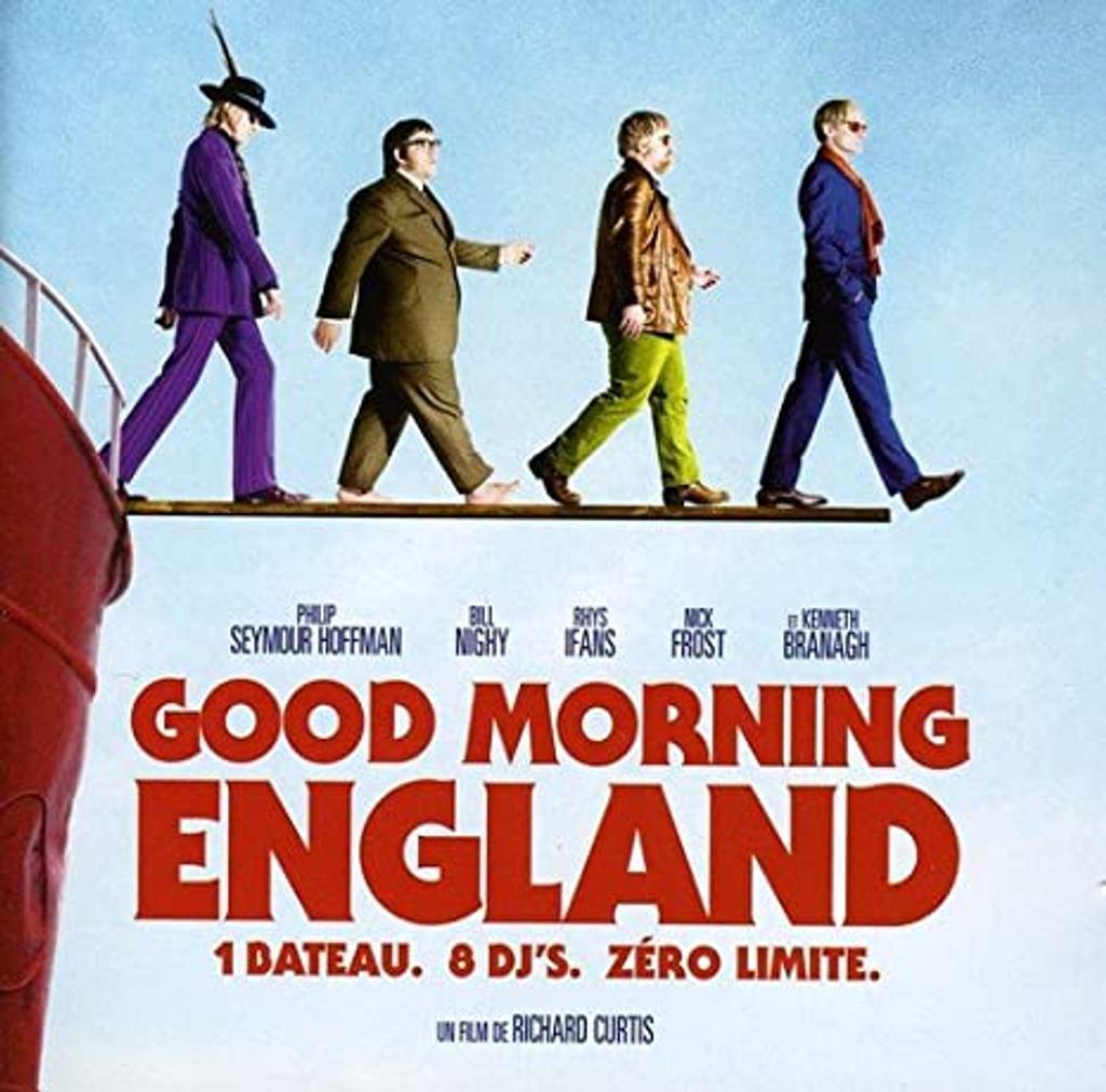 Good Morning England / The Who, Jimi Hendrix, David Bowie, Cream, The Kinks, Beach Boys...  