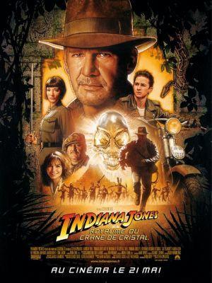 Indiana Jones et le royaume du crâne de cristal / Steven Spielberg (réal) | Spielberg, Steven. Metteur en scène ou réalisateur