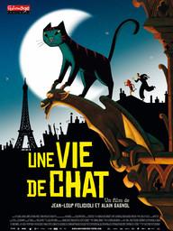 Une vie de chat / Réalisateurs: Jean-Loup Felicioli, Alain Gagnol   Felicioli, Jean-Loup. Monteur
