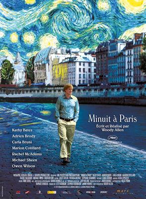 Minuit à Paris / Woody Allen (réal)   Allen, Woody ((1935-...)). Metteur en scène ou réalisateur. Scénariste