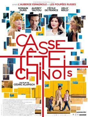 Casse-tête chinois / Cédric Klapisch (réal)   Klapisch, Cédric. Scénariste. Metteur en scène ou réalisateur