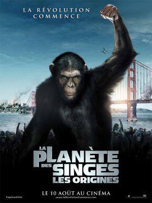 La planète des singes : Les origines / Rupert Wyatt (réal)   Wyatt, Rupert (1972-....). Metteur en scène ou réalisateur. Scénariste