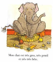 Mon chat le plus bête du monde / texte et illustrations de Gilles Bachelet   Bachelet, Gilles (1952-....). Auteur