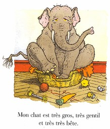 Mon chat le plus bête du monde / texte et illustrations de Gilles Bachelet | Bachelet, Gilles (1952-....). Auteur
