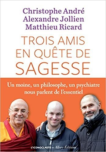 Trois amis en quête de sagesse / Christophe André, Alexandre Jollien, Matthieu Ricard | André, Christophe (1956-....). Auteur