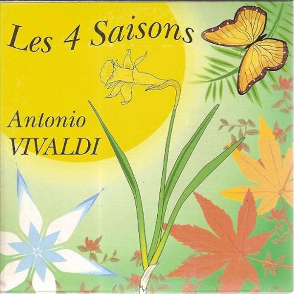 Vivaldi - les 4 saisons / Antonio Vivaldi  