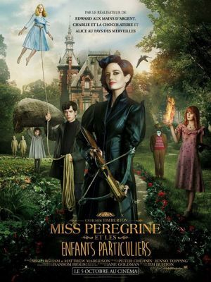 Miss Peregrine et les enfants particuliers / Tim Burton (réal) | Burton, Tim ((1958-...)). Metteur en scène ou réalisateur. Producteur