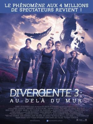 Divergente 3 : Au-delà du mur / Robert Schwentke (réal)   Schwentke, Robert. Metteur en scène ou réalisateur