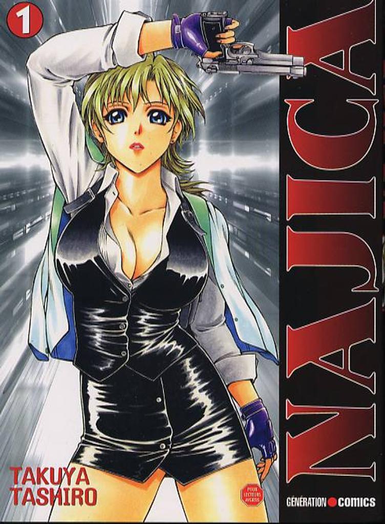 Najica. 01 : manga / Takuya Tashiro | Tashiro, Takuya. Auteur. Illustrateur