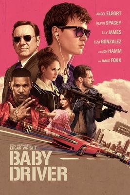 Baby Driver / Edgar Wright (réal)   Wright, Edgar (1974-....). Metteur en scène ou réalisateur. Scénariste