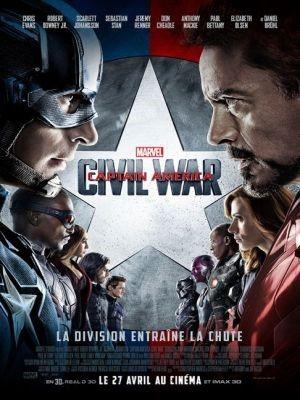 Captain America : Civil War / Anthony Russo et Joe Russo (réal) | Russo, Anthony. Metteur en scène ou réalisateur. Monteur