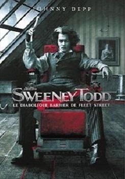 Sweeney Todd : le diabolique barbier de Fleet Street / Tim Burton (réal)   Burton, Tim ((1958-...)). Metteur en scène ou réalisateur