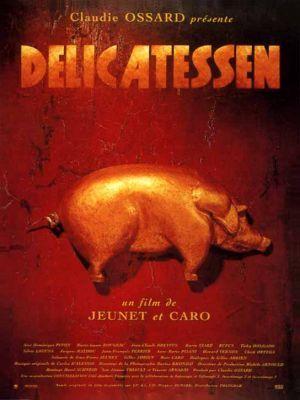 Delicatessen / Jean-Pierre Jeunet et Marc Caro (réal) | Jeunet, Jean-Pierre. Metteur en scène ou réalisateur