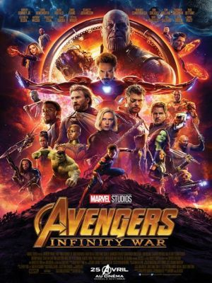 Avengers. 03, Infinity war / Anthony Russo et Joe Russo (réal) | Russo, Anthony. Metteur en scène ou réalisateur