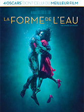 La forme de l'eau / Guillermo Del Toro (réal)   Del Toro, Guillermo. Metteur en scène ou réalisateur. Scénariste. Producteur