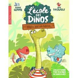 L'école des dinos. 1, Diplo est un héros / texte de Pierre Gemme | Gemme, Pierre (1964-....). Auteur