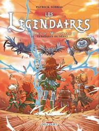 Les Légendaires : World Without. 21, La bataille du néant / Patrick Sobral | Sobral, Patrick (1972-....). Auteur