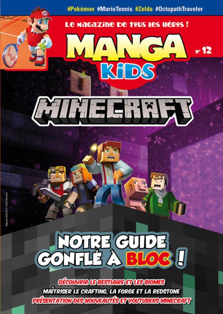 Manga kids : Le magazine de tous les héros ! |