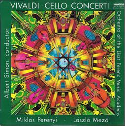 Gordonkaversenyek - Cello concertos / Antonio Vivaldi | Vivaldi, Antonio (1678-1741)