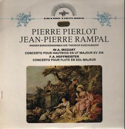 Concerto pour hautbois en ut majeur KV 314 / W.A. Mozart | Mozart, Wolfgang Amadeus (1756-1791)