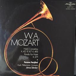 Horn Concertos K.412 K.417 K.495 : Rondo for Horn K.371 / W.A. Mozart | Mozart, Wolfgang Amadeus (1756-1791)