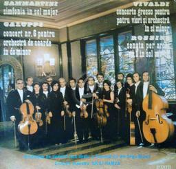 Concerto grosso pentru patru viori si orchestra in si minor / Antonio Vivaldi | Vivaldi, Antonio (1678-1741)
