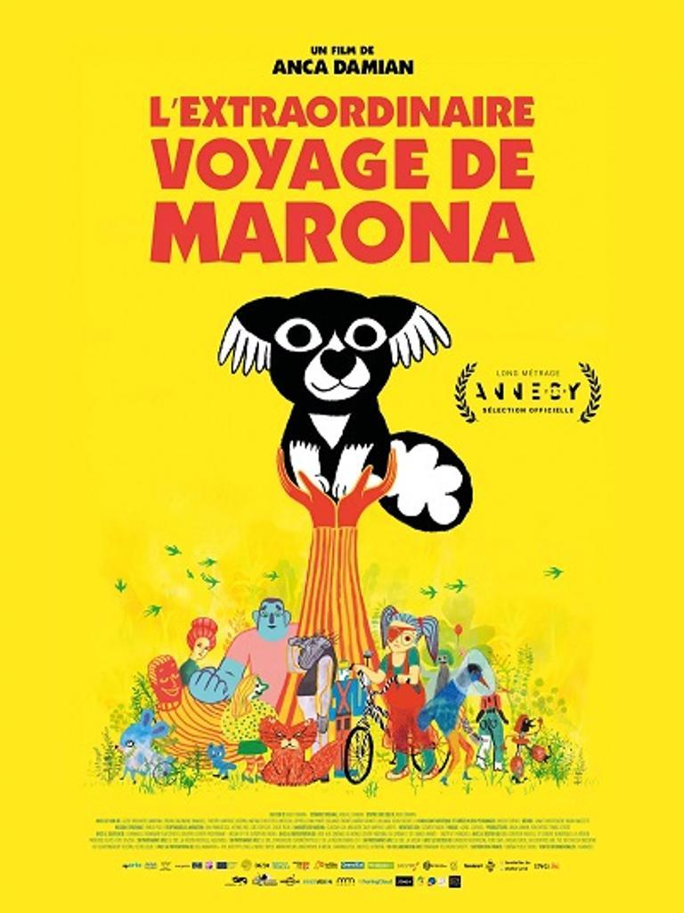 Extraordinaire voyage de Marona (L') / Anca Damian, réal.   Damian, Anca. Metteur en scène ou réalisateur. Antécédent bibliographique. Producteur
