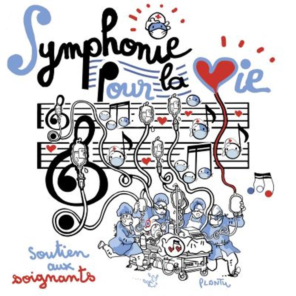Symphonie pour la vie / Jean-Sébastien Bach    Bach, Jean-Sébastien
