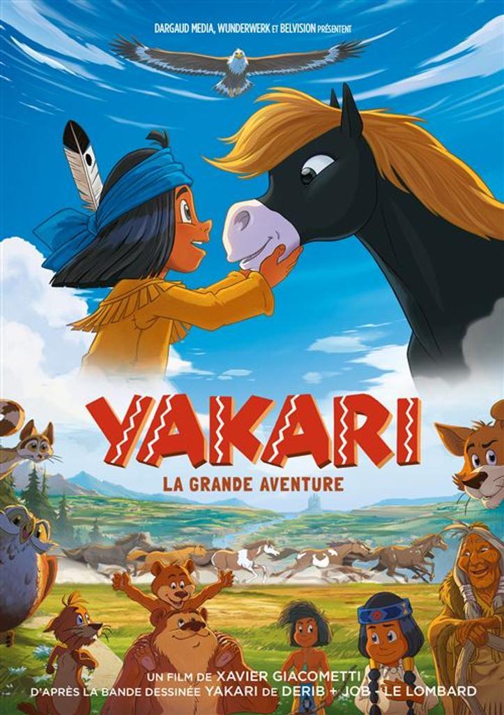 Yakari - La grande aventure - Le film / Xavier Giacometti, réal. | Giacometti, Xavier. Metteur en scène ou réalisateur. Scénariste. Dialoguiste
