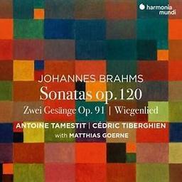Sonatas op. 120 / Johannes Brahms   Brahms, Johannes (1833-1897). Compositeur