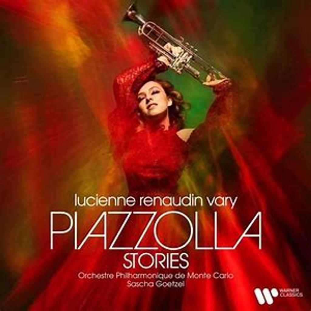 Piazzolla stories / Lucienne Renaudin Vary   Renaudin Vary, Lucienne (1999-....). 902