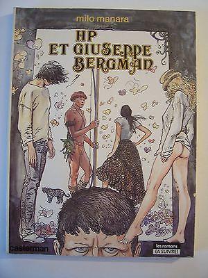 HP et Giuseppe Bergman / Manara | Manara, Milo (1945-....). Auteur